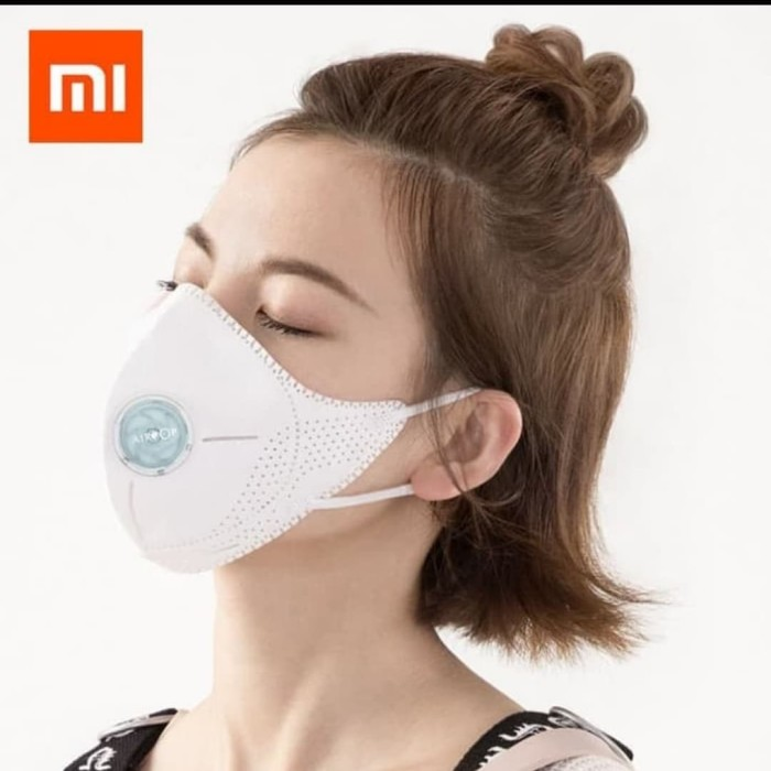 Foto Produk Masker Xiaomi AirPOP Light 360 Degree Air Anti-Bacterial PM2.5 Putih dari dnmlocker