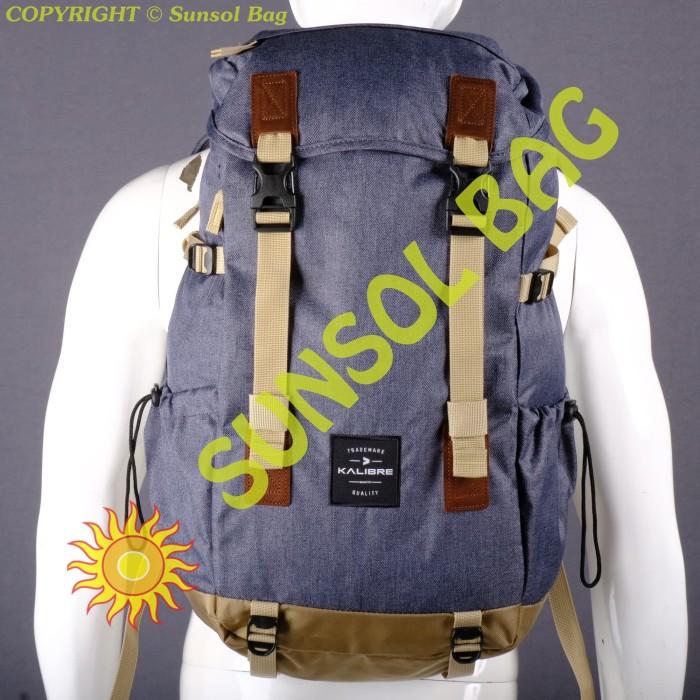 Foto Produk Kalibre Vantage 01 Tas Ransel Laptop Dark Grey-Khaki 910709-052 dari Sunsol Bag