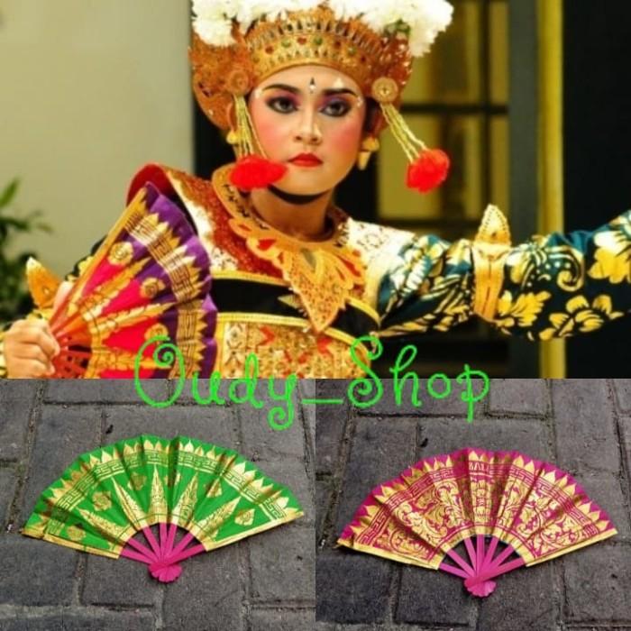 Foto Produk Kipas Prada Penari Anak Kipas Etnik Bali Tanpa Rumbai Oleh Oleh Bali dari Toko Oudy