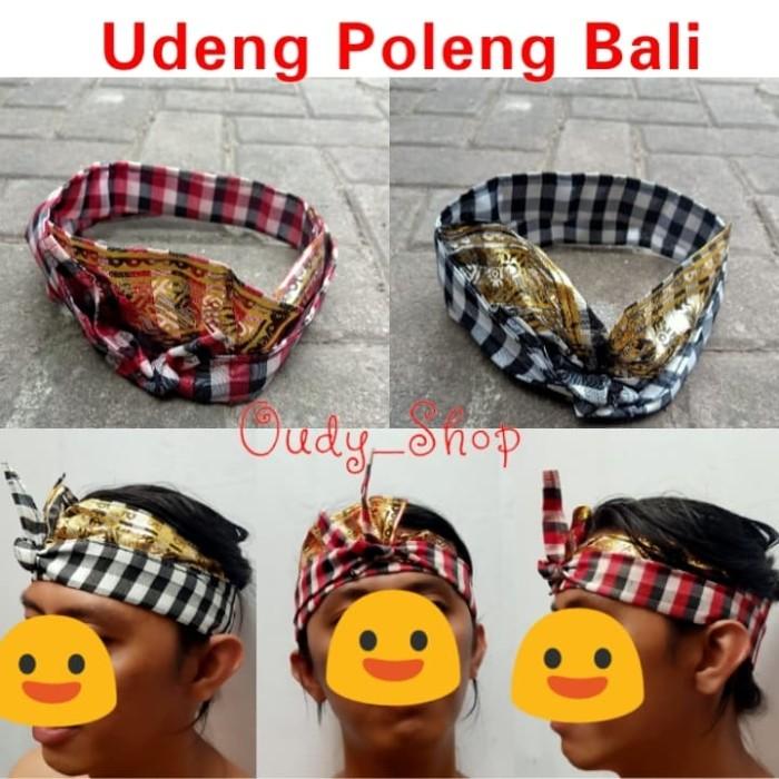 Foto Produk Udeng Poleng Prada Bali Udeng Setengah Jadi Ikat Kepala Oleh Oleh Khas dari Toko Oudy