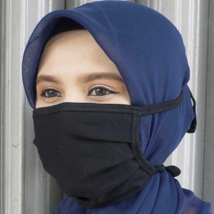 Foto Produk Masker Cotton Combed (Paket 5 pcs) 2 Lapis Dg Kantong Bisa Diisi Tisu dari KALILOL