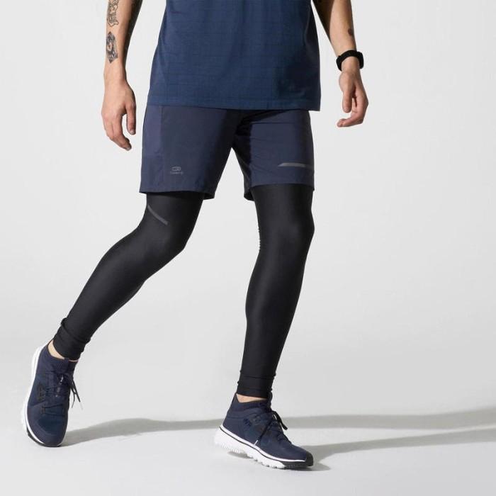 Jual Legging Lari Pria Kalenji Celana Ketat Run Dry Pria Hitam 8558797 Kota Tangerang Zindabad Tokopedia