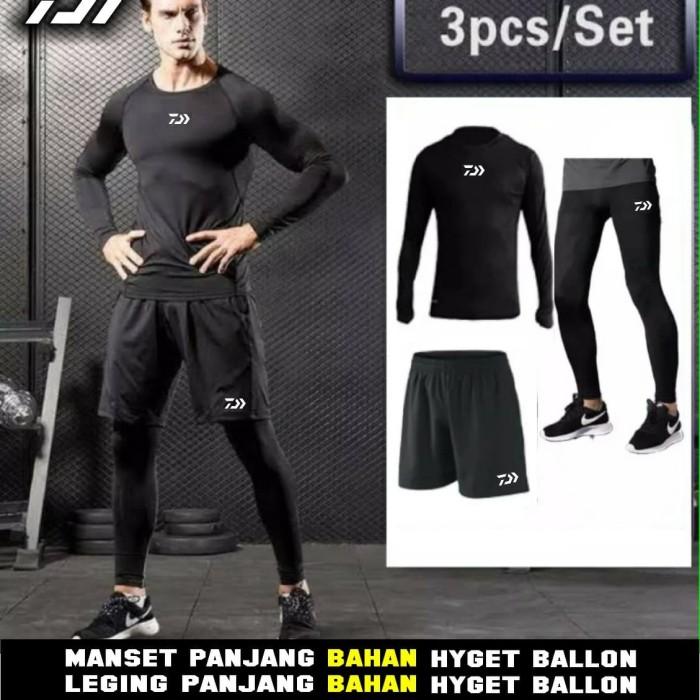 Jual Paket Hemat Celana Mancing Baselayer Mancing Legging Mancing Daiwa Kab Jember Eyb Sport Tokopedia