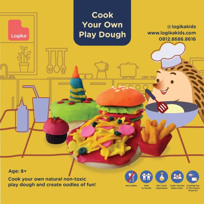 Logikakids Cook Your Own Play Dough