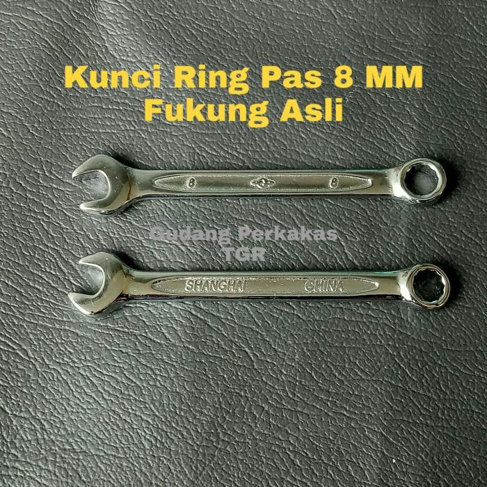 Jual Kunci Ring Pas 8 Mm Kunci R P 8mm Fukung Asli 8 Mm Kab Tangerang Gudang Perkakas Tokopedia