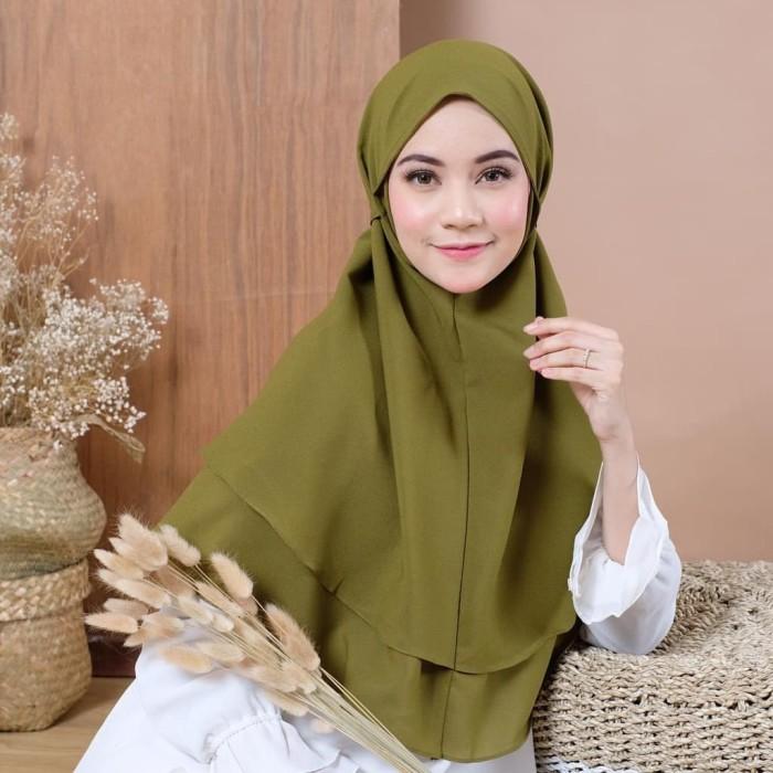 Jual Hijab Bergo Maryam 2 Layer Hijab Bergo Maryam Double Layer Milo Kab Jepara Pusatgrosiir Tokopedia