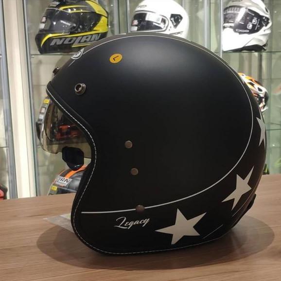 Foto Produk Helm Zeus ZS380FA LEGACY K57 Matt Black Black dari Juragan Helm ID