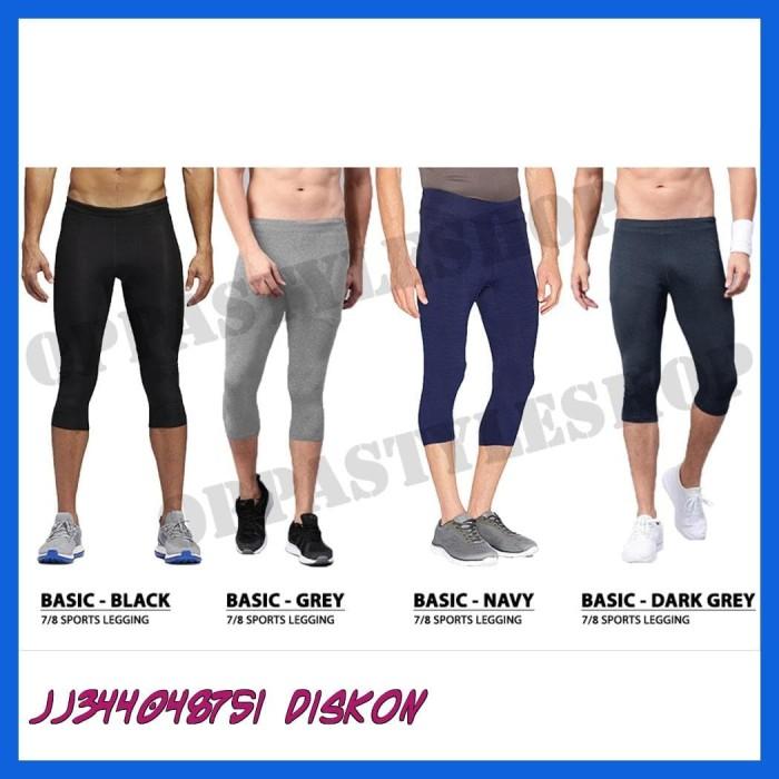 Jual Termurah Basic 7per8 Legging Pria Celana Legging Selutut Training Jakarta Selatan Jj344048751 Diskon Tokopedia