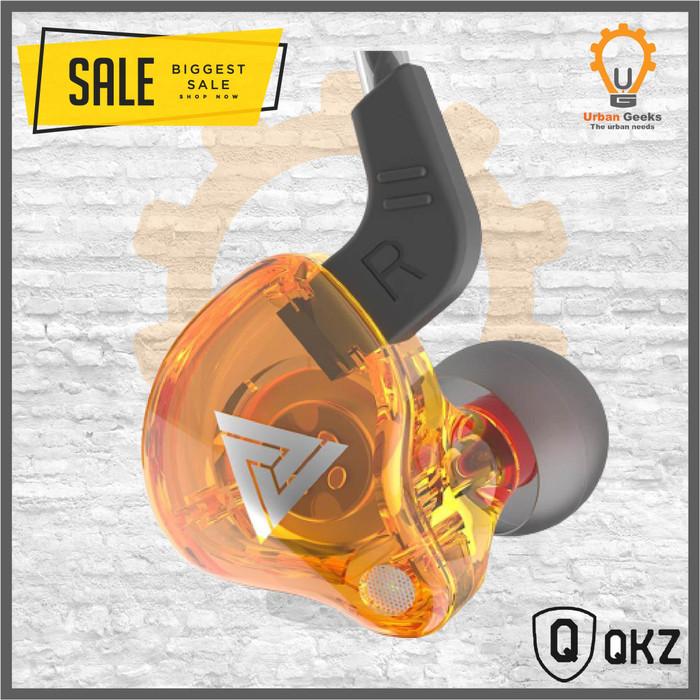 Foto Produk QKZ AK6 Quality Knowledge Zenith With Mic Sports In-Ear Hi-Res not CK5 - Kuning dari Urban Geeks