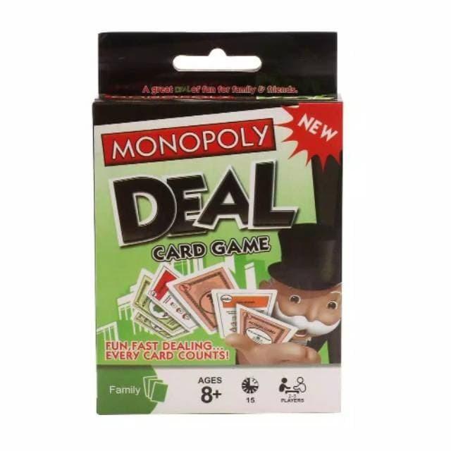 Foto Produk Monopoly Deal Mainan Kartu Card Game - Family Game / Mainan Keluarga dari InvendLab