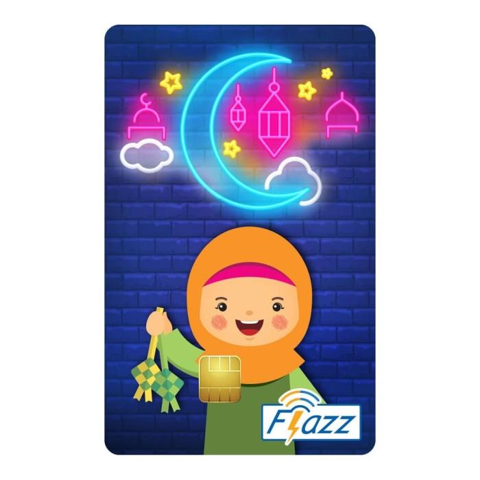 Foto Produk Kartu Flazz Limited Edition Lebaran Anak Perempuan Berlogo Baru dari Flazz Official Shop