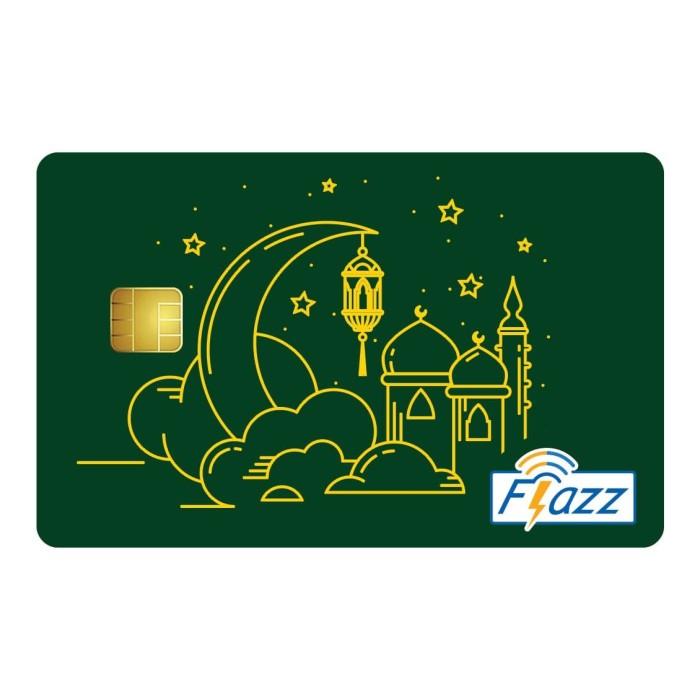 Foto Produk Kartu Flazz Limited Edition Lebaran Masjid Hijau dari Flazz Official Shop