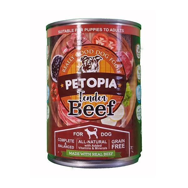 Foto Produk petopia 380 gr dog tender beef dari F.J. Pet Shop