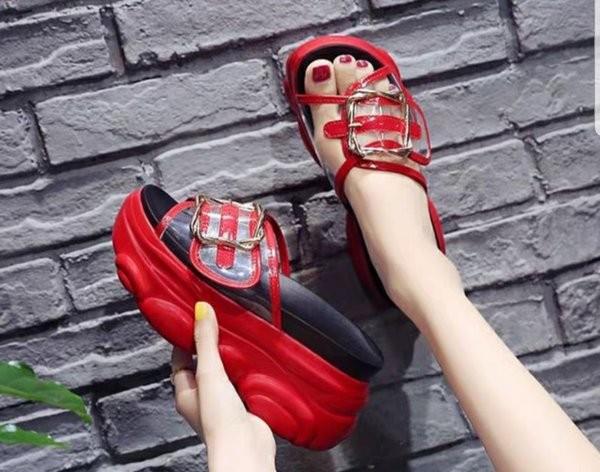 Foto Produk Sandal Flat Denim AA - FD14 Sandal Wanita Sendal Pita Selop dari toko_fitriagustina