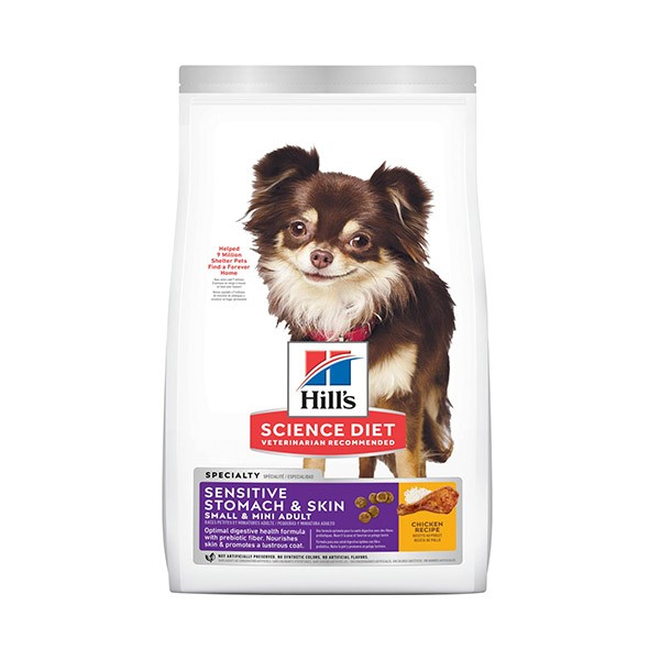 Foto Produk science diet 1.81 kg dog small mini sensitive stomach skin chicken dari F.J. Pet Shop