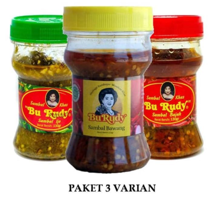 Jual Paket Sambal Bu Rudy Kota Surabaya Viena Store Tokopedia