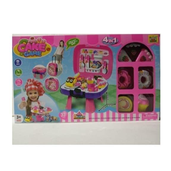 Jual Mainan Anak Cake Game Meja Rumah Kue Masak Masakan Dapur Jakarta Utara Tokomurahindo Tokopedia