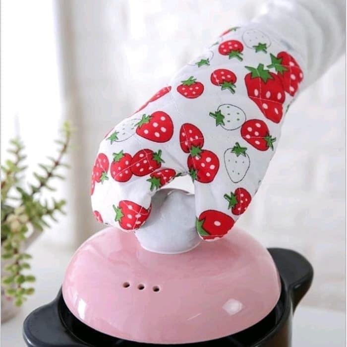 Foto Produk sarung tangan oven microwave masak dapur anti panas kitchen set gloves - RANDOM-TANGAN dari I-Tech Accessories HP