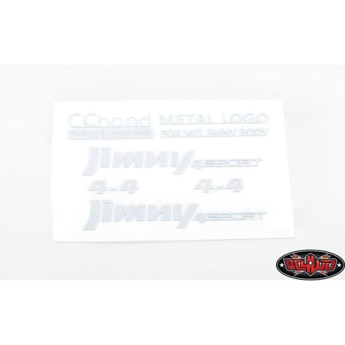 Foto Produk CCHAND METAL EMBLEMS MST 1/10 CMX W/ JIMNY J3 BODY (WHITE) #VVV-C0658 dari Helihantoys