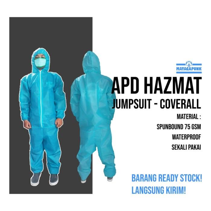 Foto Produk APD hazmat suit coverall tosca dari matacapunk tshirt