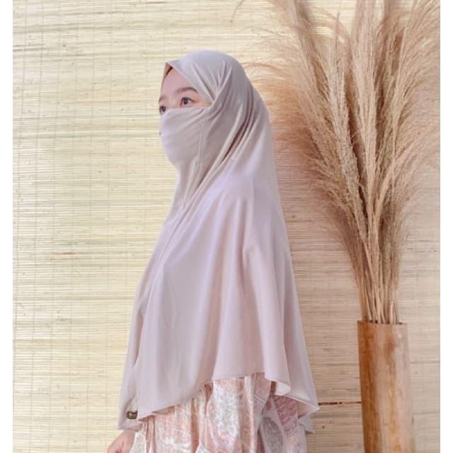 Jual Zalfa Hijab Bergo Hijab Masker Bergo Masker Hijab Anti Korona Mustard Kota Bandung Koleksi Zalfa Tokopedia
