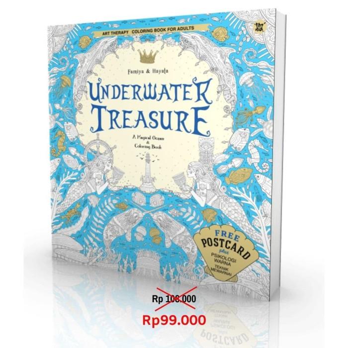 Foto Produk Underwater Treasure - Coloring book for adults dari Toko Kutu Buku