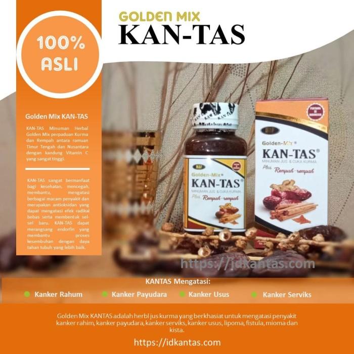 Foto Produk KAN-TAS Minuman Herbal Alami Mengatasi Kanker @ 150ml dari AVERO FOOTFRESH