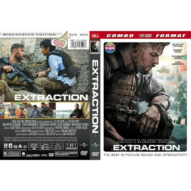 Foto Produk DVD Film Extraction (2020) Gratis 1 dari Laris Jaya Glodok