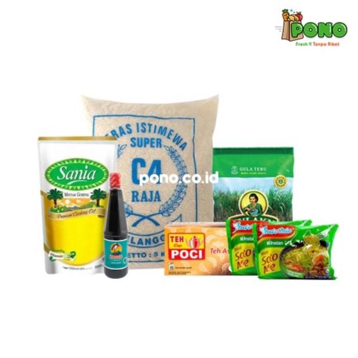 Foto Produk Paket Sembako Hemat dari Pono Area Solo