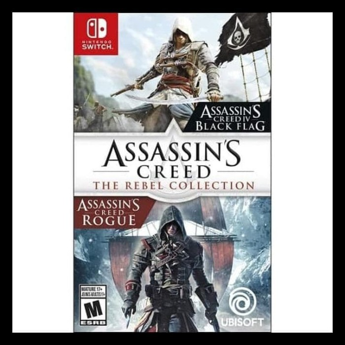 Jual Terlengkap Nintendo Switch Assassins Creed The Rebel