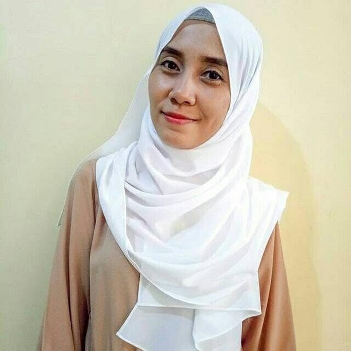 Jual Ready Stock Pashmina Kulit Jeruk Putih Kota Bandung Andira Galeri Tokopedia