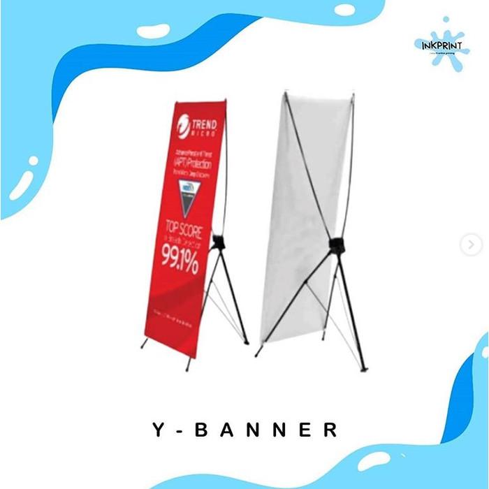 Jual Print Cetak Y Banner Promosi Cepat Murah Ukuran 60x160cm 80x180cm Jakarta Utara Karuniautama Tokopedia