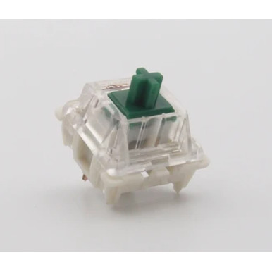 Foto Produk KS-9 Gateron Green Switch Tactile Clicky - Plate Mounted dari VortexSeries