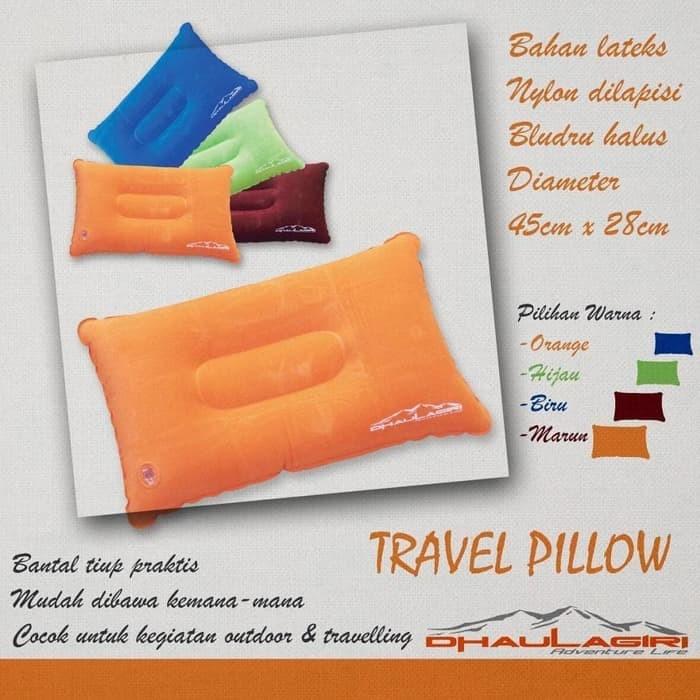 Foto Produk Bantal Tiup Travel Pillow Dhaulagiri dari Toko Gunung Murah