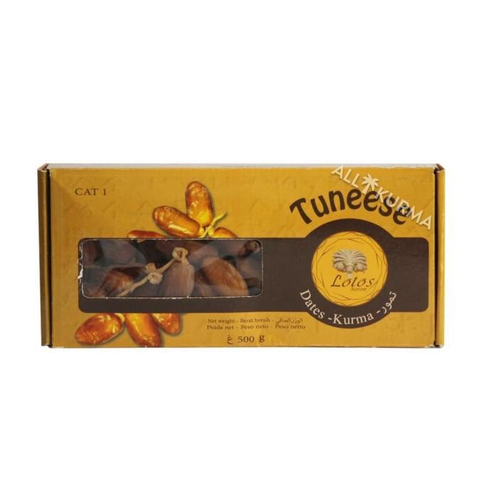 Foto Produk Tuneese Deglet Nour Tangkai 500 Gr dari All Kurma