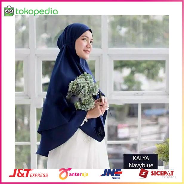 Jual Khimar Jumbo Tali Belakang Khayla 2layer Non Pet Jilbab Instan Jakarta Barat Jagat Official Tokopedia