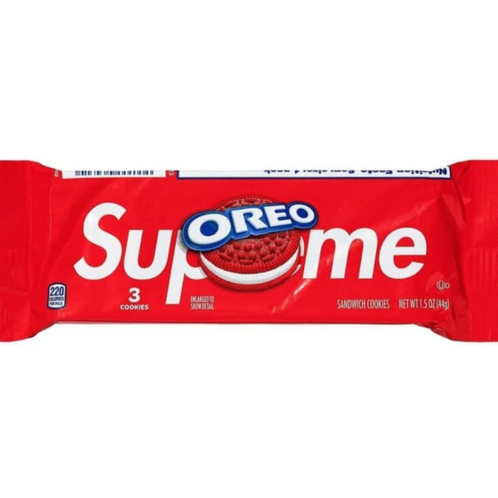 Jual Supreme x Oreo Cookies AUTHENTIC ORIGINAL READY STOCK ...