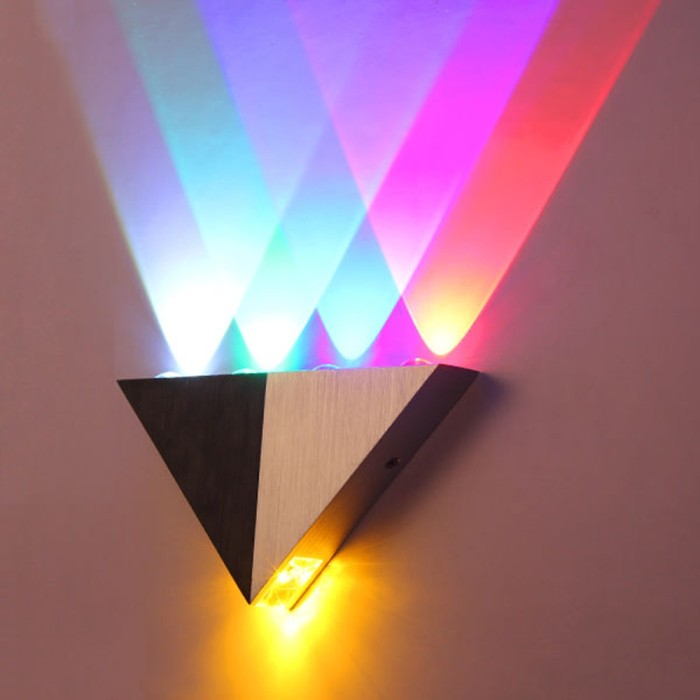 Jual M8 5w Aluminum Triangle Led Wall Light Lamp Home Lighting Indoor Jakarta Barat Kingjour Tokopedia