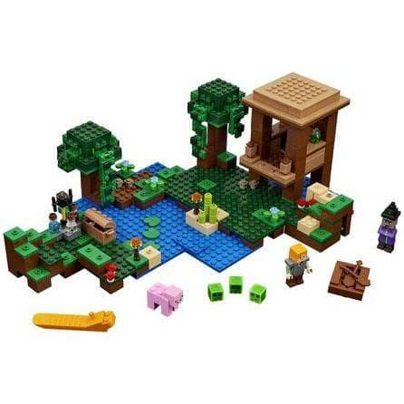 Jual New 828 Lego Minecraft My World The Witch Hut Jakarta Pusat Aliando Store1 Tokopedia