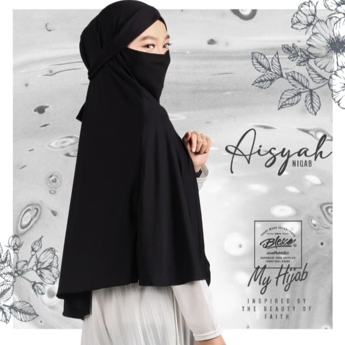 Jual Kerudung Masker Kerudung Instan Hijab Syari Jilbab Cadar Hitam Kab Bandung Galuhgalleri Online Tokopedia