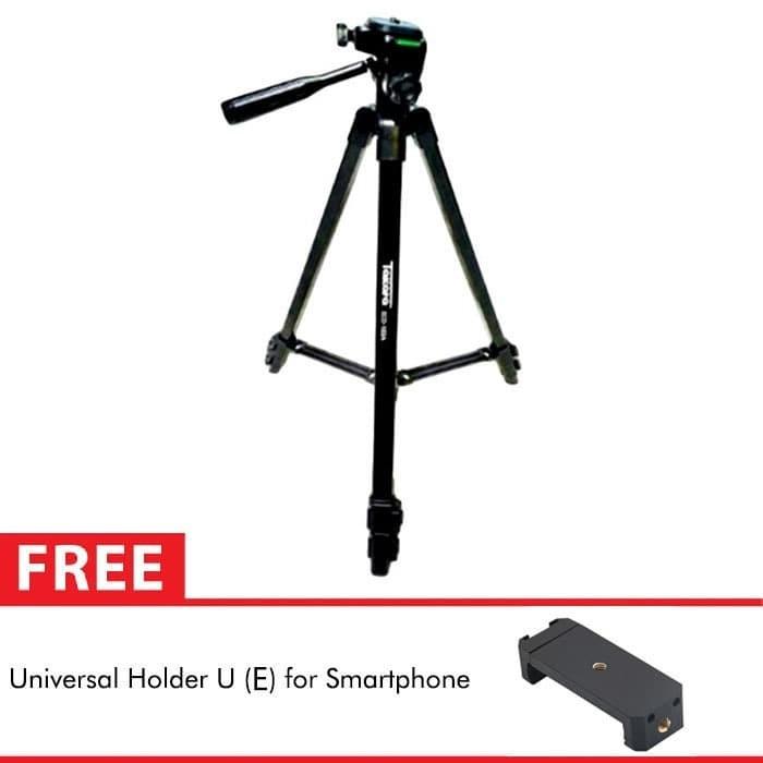 Foto Produk Takara Lightweight Tripod Eco-183A For DSLR Action Camera + Holder U E dari Berrisom Official Store