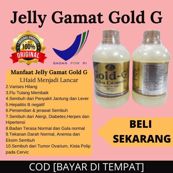 Fungsi Jelly Gamat Gold G Untuk Jerawat