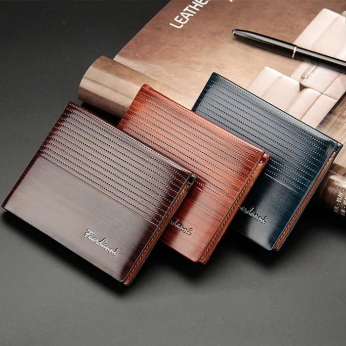 Foto Produk W47 Dompet Pria Pendek Fuerdanni Men Short Wallet - brown dari Dneo Store