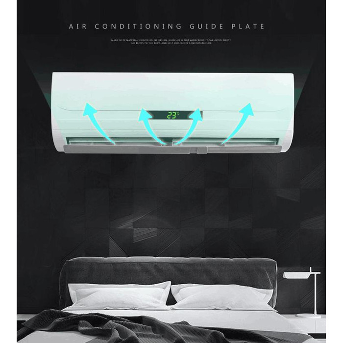 Foto Produk TALANG AC REFLECTOR REFLEKTOR AC PENAHAN ANGIN AC SPLIT dari Bro & Sis Jakarta