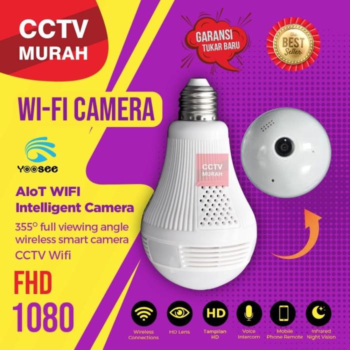 Foto Produk Kamera CCTV WIFI Bohlam IP Camera Thunderin dari CCTV-MURAH