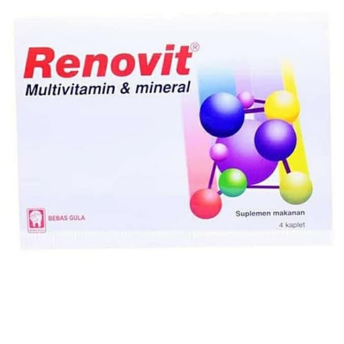 Foto Produk RENOVIT Strip 4 Tablet , Multivitamin dan Mineral dari WTCSTORE