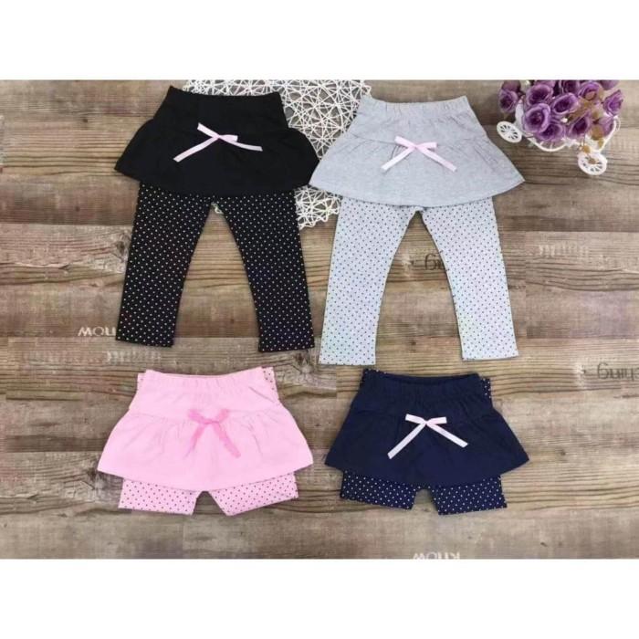 Jual Legging Rok Anak Perempuan Cewe Motif 3d Import Cotton Katun Imut Hitam M Jakarta Barat Polkadots Babies Kids Tokopedia
