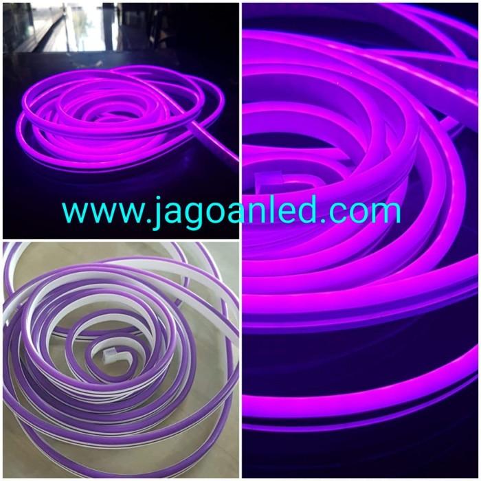 Jual Led Neon Flex Dc 12v Ungu Kota Malang Jagoanled Tokopedia