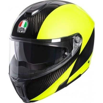 Jual Agv Sport Modular Carbon Hi Vis Yellow Helm Motor Modular Carbon Jakarta Barat Apparel Hedon Tokopedia