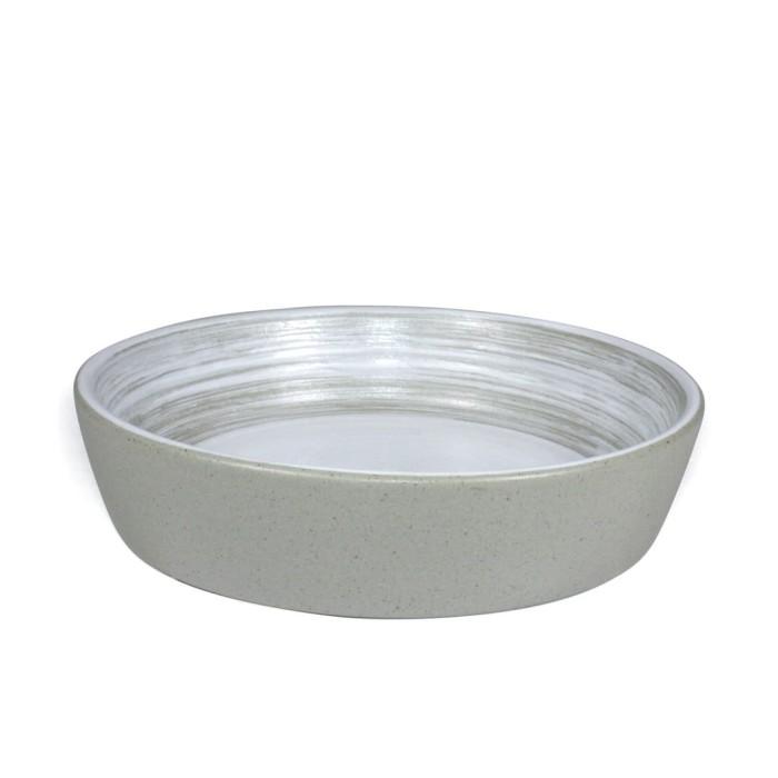 Foto Produk Artisan Ceramic | Alam Grey Deep Bristol 14 cm | Mangkok Keramik dari Artisan Ceramic
